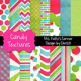 Digital Papers: Candy Colored Textures