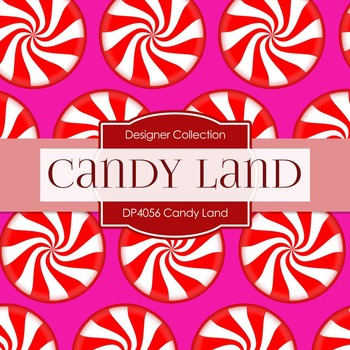 Digital Papers - Candy Land (DP4056)