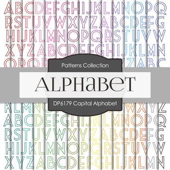 Digital Papers - Capital Alphabet (DP6179)