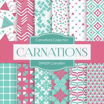 Digital Papers - Carnation (DP4259)