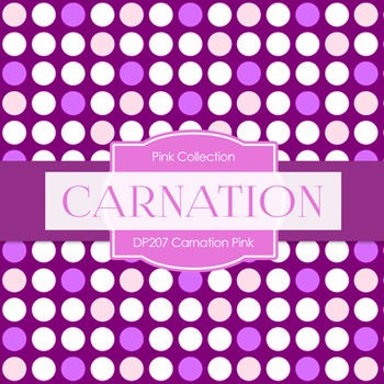 Digital Papers - Carnation Pink (DP207)