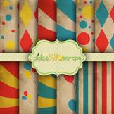 Digital Papers Carnival Paper Circus Paper 2