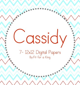 Digital Papers: Cassidy