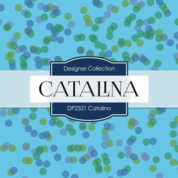 Digital Papers - Catalina (DP2321)