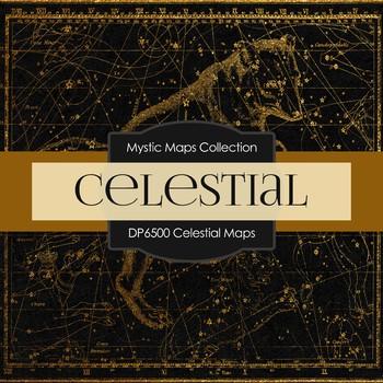 Digital Papers - Celestial Maps (DP6500)