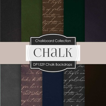 Digital Papers -  Chalk Backdrops (DP1529)