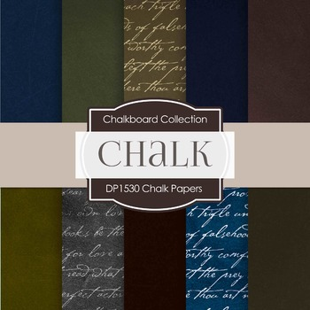 Digital Papers -  Chalk Papers (DP1530)
