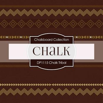Digital Papers - Chalk Tribal (DP1115)