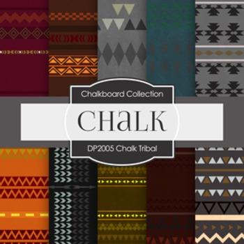 Digital Papers -  Chalk Tribal (DP2005)