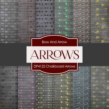 Digital Papers - Chalkboard Arrows (DP4122)