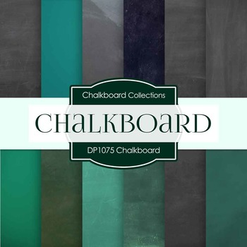 Digital Papers - Chalkboard (DP1075)