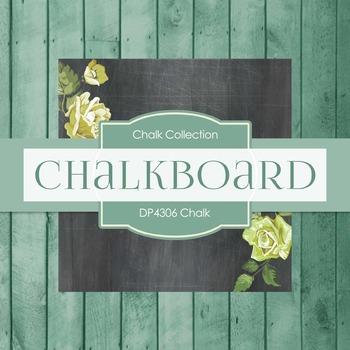 Digital Papers - Chalkboard (DP3806)