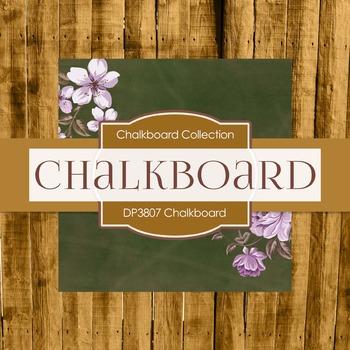 Digital Papers - Chalkboard (DP3807)