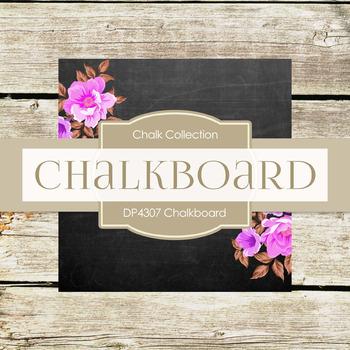 Digital Papers - Chalkboard (DP3812)