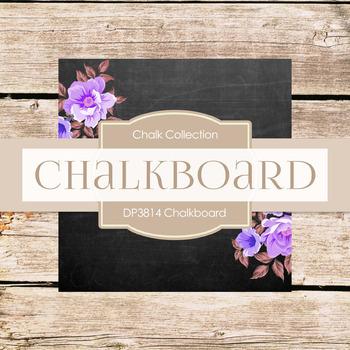 Digital Papers - Chalkboard (DP3814)