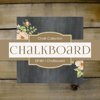 Digital Papers - Chalkboard (DP4071)