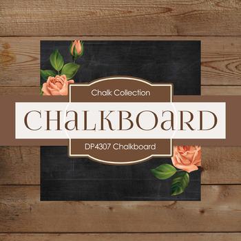 Digital Papers - Chalkboard (DP4307)