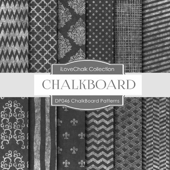 Digital Papers - Chalkboard Designs (DP046)
