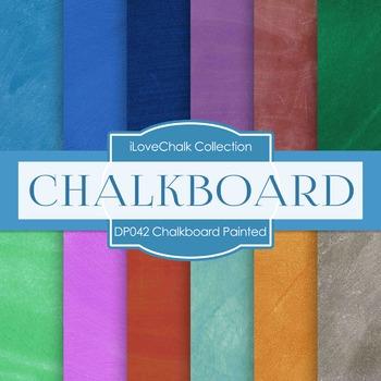 Digital Papers - Chalkboard Painted (DP042)