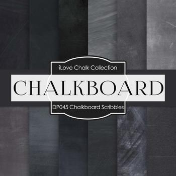 Digital Papers - Chalkboard Scribbles (DP045)