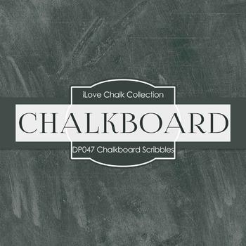 Digital Papers - Chalkboard Scribbles (DP047)