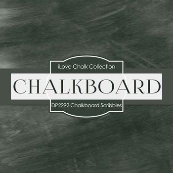 Digital Papers - Chalkboard Scribbles (DP2292)