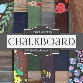 Digital Papers - Chalkboard Texture (DP1256)