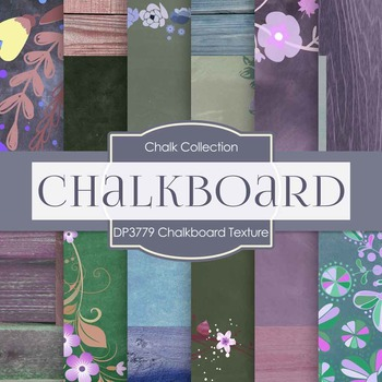 Digital Papers - Chalkboard Texture (DP3779)
