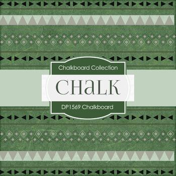 Digital Papers -  Chalkboard Tribal (DP1569)