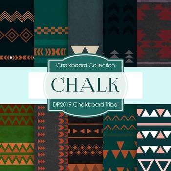 Digital Papers - Chalkboard Tribal (DP2019)