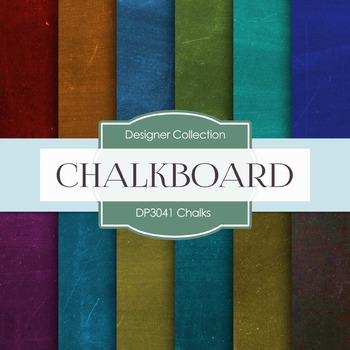 Digital Papers - Chalks (DP3041)