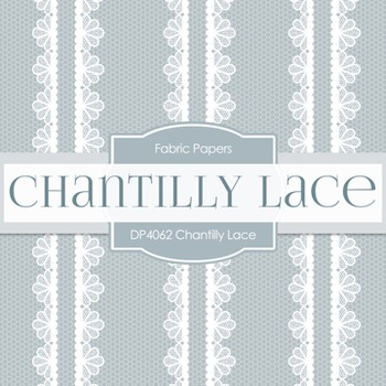 Digital Papers -  Chantily Lace (DP4062)