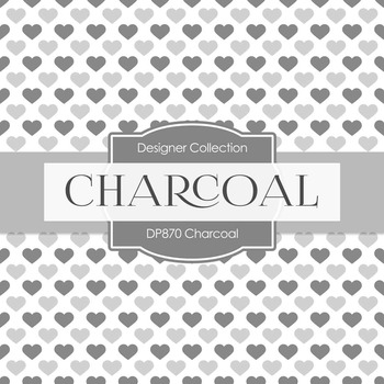 Digital Papers - Charcoal (DP870)