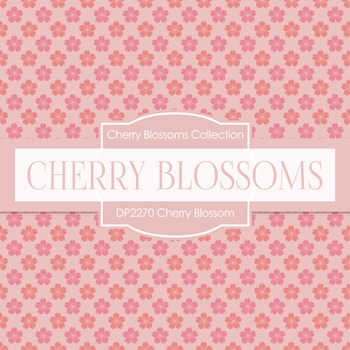 Digital Papers -  Cherry Blossom (DP2270)