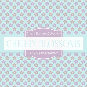 Digital Papers -  Cherry Blossom (DP2272)