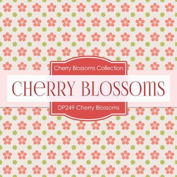 Digital Papers - Cherry Blossoms (DP249)