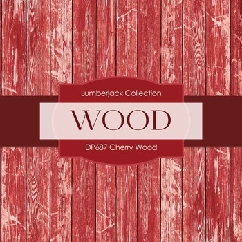 Digital Papers - Cherry Wood (DP687)
