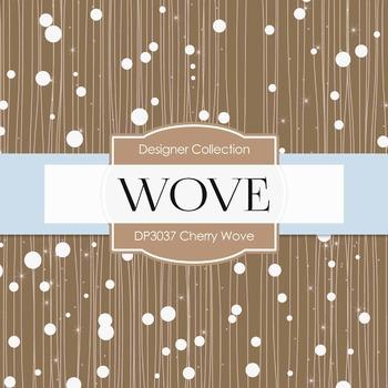 Digital Papers - Cherry Wove (DP3037)