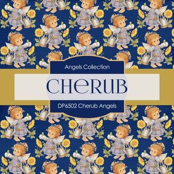 Digital Papers - Cherub Angels (DP6502)
