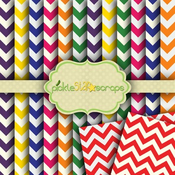 Digital Papers Chevron