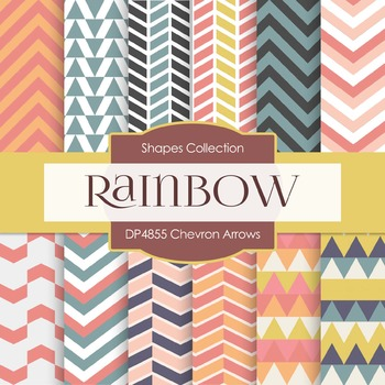 Digital Papers - Chevron Arrows (DP4855)