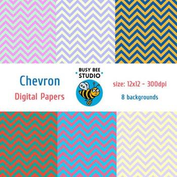 Digital Papers: Chevron-Chevron
