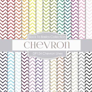 Digital Papers - Chevron Lines (DP124)