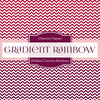 Digital Papers - Chevron Rainbow (DP4064)