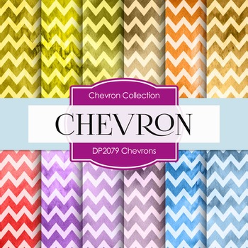 Digital Papers - Chevrons (DP2079)