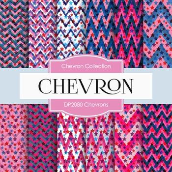 Digital Papers - Chevrons (DP2080)