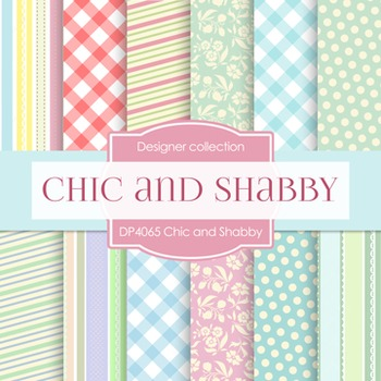 Digital Papers -  Chic And Shabby (DP4065)