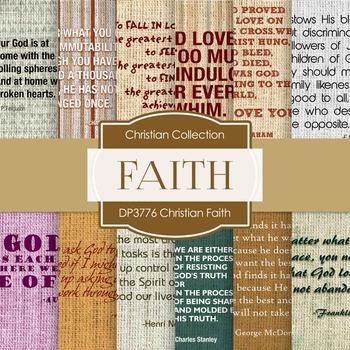 Digital Papers - Christian Faith (DP3776)