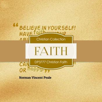 Digital Papers - Christian Faith (DP3777)