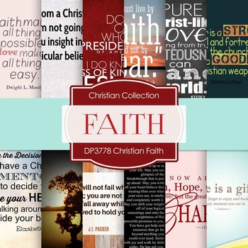 Digital Papers - Christian Faith (DP3778)
